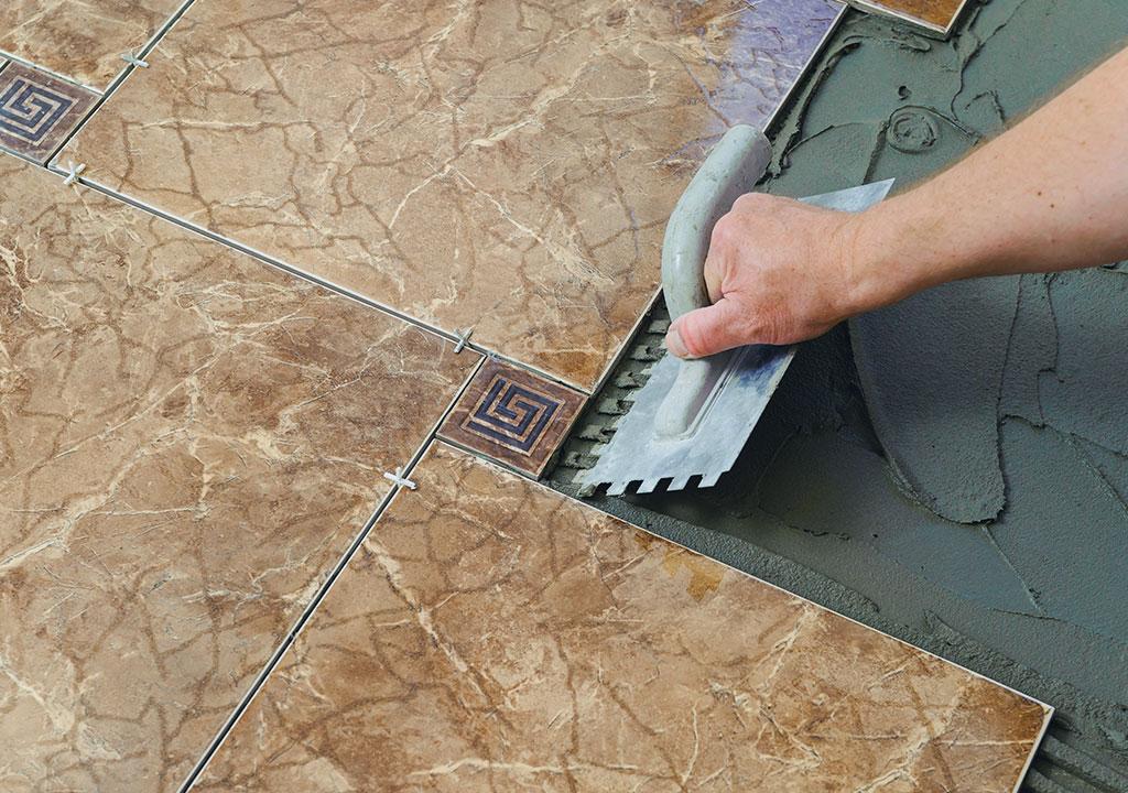 property maintenance specialist tiling